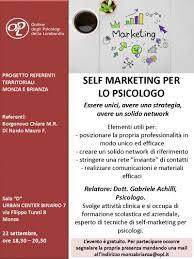 corso self marketing per psicologo corso self marketing psicologo monza