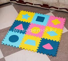 """<b>Развивающие коврики</b>-пазлы, набор <b>Funkids</b>™ """"Геометрия ..."""