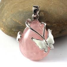 2019 <b>Kraft Beads Elegant</b> Style <b>Silver Plated</b> Natural Rose Pink ...