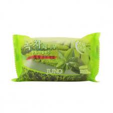 <b>Косметическое мыло</b>-пилинг с экстрактом зелёного чая Juno ...