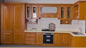cheap kitchen cupboard: luxury solid wood kitchen cabinet factory