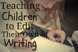 Teaching Children to Edit their Own Writing   AboutOne
