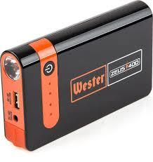 <b>Пусковое устройство Wester</b> Zeus 400, оранжевый, черный ...
