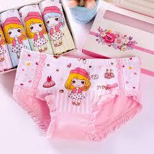4Pcs/lot Cartoon <b>Kids</b> Girl <b>Underwear</b> For Baby <b>Children's</b> ...