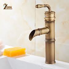 2019 <b>ZGRK Bathroom</b> Basin <b>Faucets</b> Single Handle <b>Hot</b> Cold Mixer ...