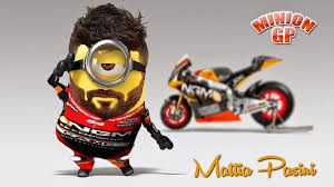 Image result for minions on dirt bike