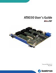 <b>AT8030</b> User's Guide