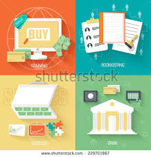 set of social business life icons design vector illustrations backgrounds in vintage style concepts business life concepts