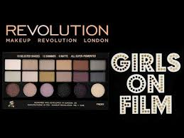 swatch and review makeup revolution usa salvation palette s on film