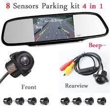 <b>Wholesale Car Parking</b> Sensor 8 Redars Alarm + 5 Auto Mirror ...
