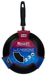 <b>Сковорода Regent</b> Carbone 93-W-HASF-2201 <b>22 см</b> — купить по ...