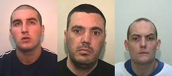 Leon Anthony Rathmill, 27, Joseph Alexander Grundy, 36, and Christopher Stephen Haughton, 27, have all breached the terms of their release from prison. - 20111118_10143