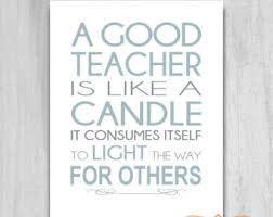 Candles And Quotes For Teachers. QuotesGram