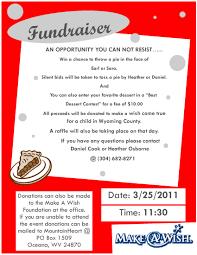 calendar of events make a wish fundraiser make a wish fundraiser event