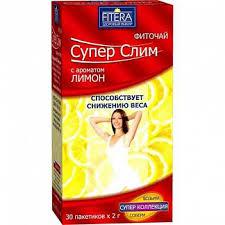 <b>Супер</b> слим чай лимон 30 шт. фильтр-пакет купить по выгодным ...