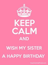 Happy Birthday Sister on Pinterest | Happy Birthday Quotes, Happy ... via Relatably.com