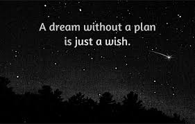 Image result for dream without work is a wish