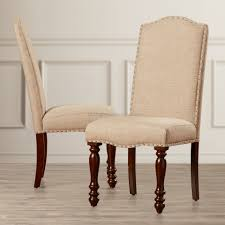 high upholstered dining room chairs