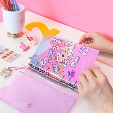 <b>Kawaii Notebook for Girls</b> Diary Planner Organizer DIY Agendas A6 ...
