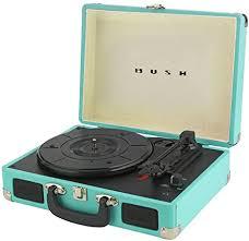 Bush <b>Classic Turntable</b> - Teal: Amazon.co.uk: Electronics
