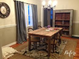 rustic hutch dining room: the owner of the home wanted a rustic chic look i started with two farmhouse style pieces she already purchased the table and hutch