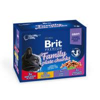Consider, Паучи <b>Паучи Brit Premium Family</b> Plate набор для кошек ...