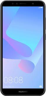 Мобильный <b>телефон Huawei Y6</b> Prime (2018) (черный)