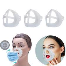 Washable Reusable Soft <b>3D Face Mask Inner</b> Support Frame ...