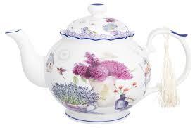 Купить Elan gallery <b>Заварочный чайник 1</b>,1 л, лаванда по низкой ...