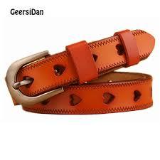 <b>GEERSIDAN New</b> High Quality Genuine Leather <b>Women'S Belt</b> ...