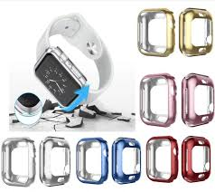 <b>500pcs</b> Plating Frame <b>Protective</b> Case Shell for Apple Watch Series ...