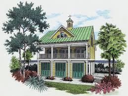 Beach House Plans  amp  Coastal Home Plans   The House Plan ShopBungalow House Plan  H