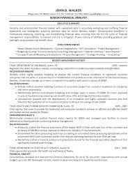 stunning senior financial analyst resume example executive stunning senior financial analyst resume example executive summary and recent employment history for job vacancy