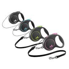 <b>Flexi Black Design</b> Collection| Retractable Cord Dog Lead| Petshop ...