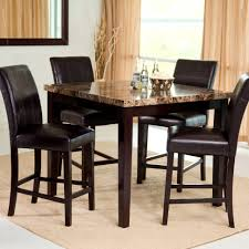 large size affordable black kitchen dining set  pleasant palazzo piece counter height dining set table sets at whole