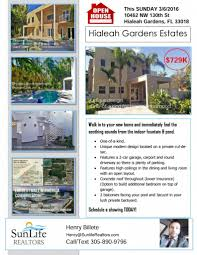 open house in hialeah gardens this sunday buy rent in open house rsvp here