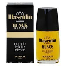 <b>Bourjois Masculin 2 Black</b> Instant Eau De Toilette 112Ml – Unboxed.in