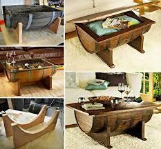 wonderful diy whiskey barrel coffee table authentic jim beam whiskey barrel table