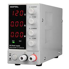 <b>KKmoon</b> 0-120V 0-3A Switching DC Power Supply 3 Digits Display ...