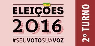 Resultado de imagem para ELEIÇÕES 2016 2º TURNO