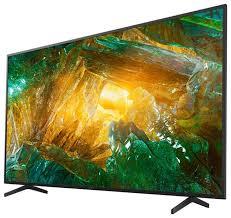 """Купить <b>Телевизор Sony KD</b>-<b>75XH8096</b> 74.5"""" (2020) черный по ..."""