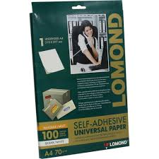 Бумага <b>самоклеящаяся</b> Lomond 2100001 — купить, цена и ...