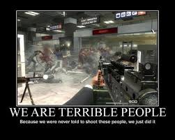 That Time Call of Duty Let You Shoot Up An Airport via Relatably.com