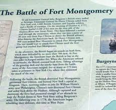 「battle of forts clinton and montgomery」の画像検索結果
