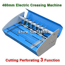 sly650 electric creasing machine 650mm electric paper creasecover position can be adjusted 220v 110v