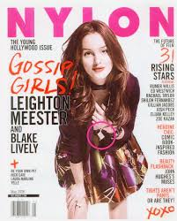 covers alicia brockwell nylon magazine leighton meester wearing nylon jewelry