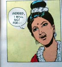 ... few more panels on the yesyoudid-noIdidn't theme. Finally, she gives up and decides to leave, declaiming… Shakuntala in Amar Chitra Katha - amar_chitra_katha_shakuntala_4
