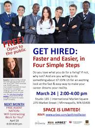 arbez event get hired doherty the employment experts get hired faster easier in 4 simple steps