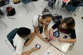 Digitally Aided Education  Using the Students      Own Electronic Gear
