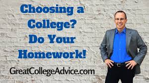 admissions expert on choosing a college do your homework admissions expert on choosing a college do your homework